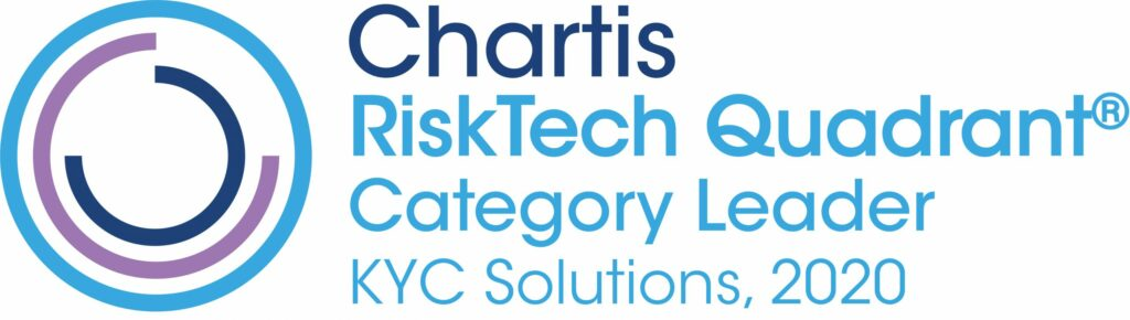 2020 Chartis KYC Solutions Award logo scaled